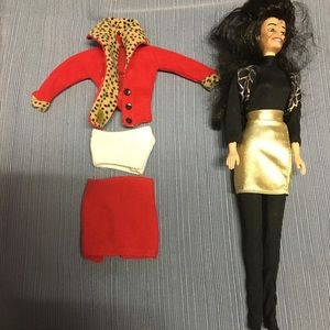 Preowned Fran Drescher The Nanny talking doll.